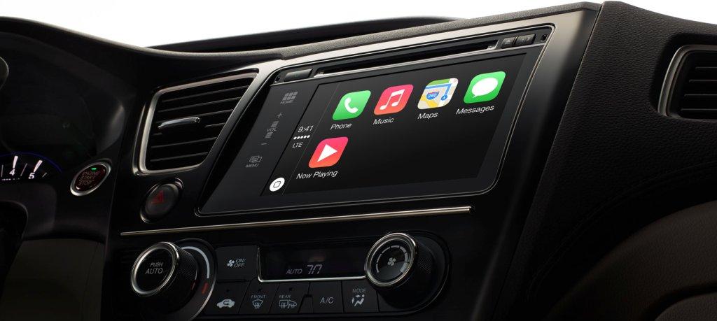 CarPlay w samochodzie