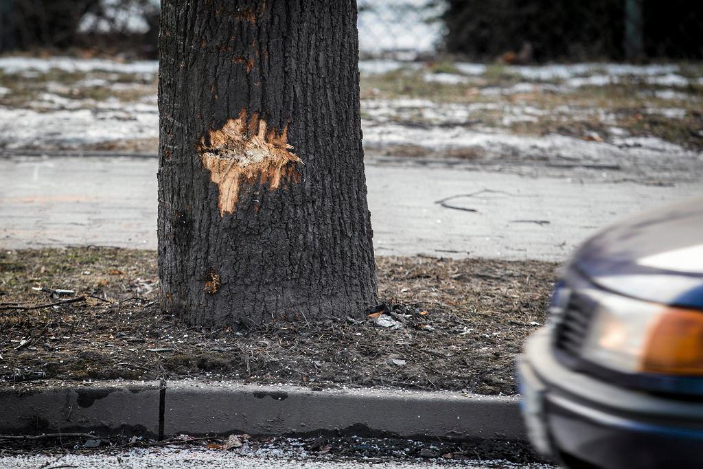 Wypadek premier Beaty Szydło - miejsce wypadku
