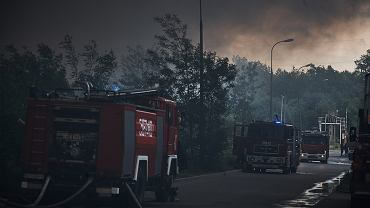Pożar w Zgierzu