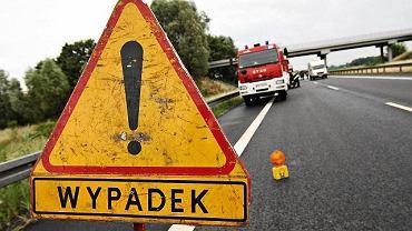 Wypadek drogowy (zdjęcie ilustracyjne).