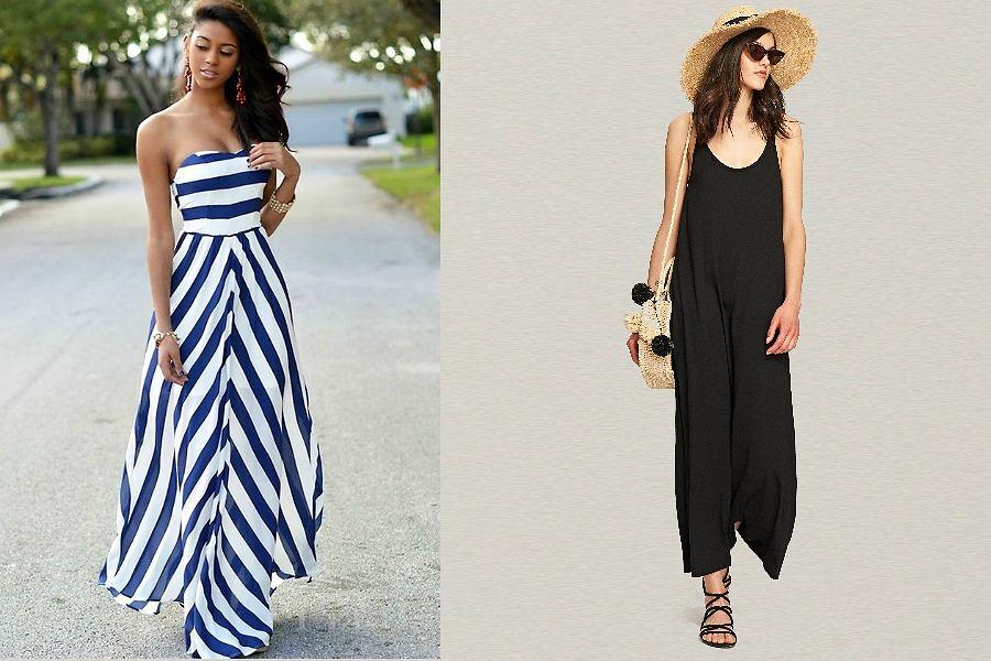 sukienki plażowe długie
