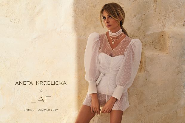 Aneta Kręglicka prezentuje nową kolekcję L'AF