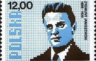 Portret Janiszewskiego na jednym z czterech znaczków opublikowanej w 1982 r. przez Pocztę Polską serii 'Matematycy polscy'. Oprócz niego trafili na znaczki: Stanisława Zaremba, Wacław Sierpiński i Stefan Banach. Tylko znaczek z Banachem ma wyższy nominał.