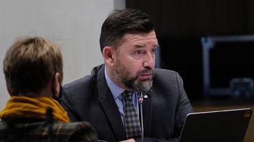 Prezes PAP Wojciech Surmacz podczas posiedzenia Sejmowej Komisji Kultury i Środków Przekazu