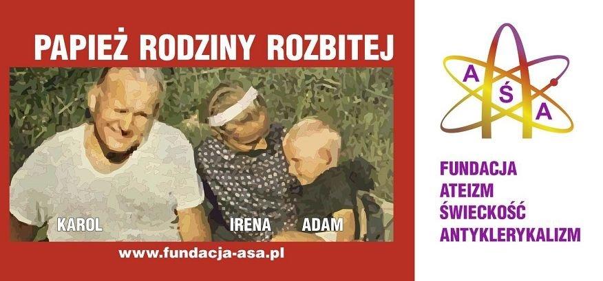 Taki billboard miał zostać powieszony w Lublinie