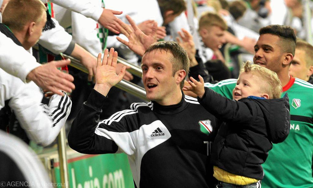 Miroslav Radović w ostatnim meczu z Zawiszą strzelił dwa gole