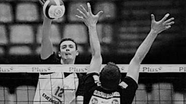 Roman Gulczyński (Gwardia Wrocław) podczas meczu. Źródło: Gwardia Wrocław/ Twitter