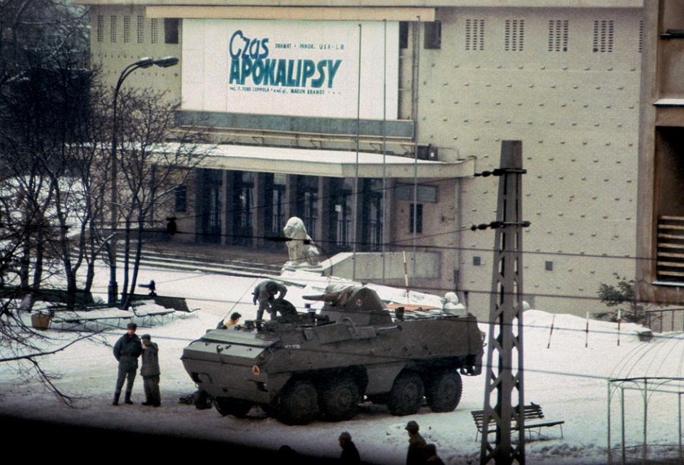 Czas Apokalipsy, Warszawa, 1981 r, stan wojenny