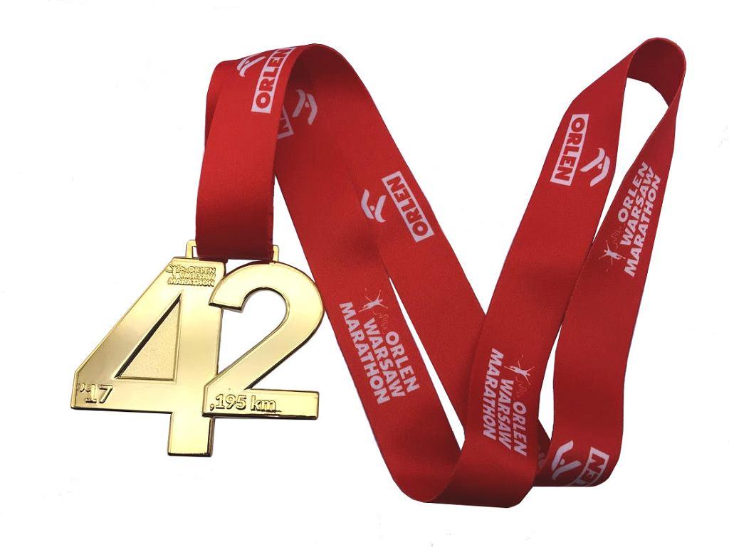 Medal ORLEN Warsaw Marathon