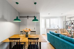 Mieszkanie w stylu skandynawskim z loftowym akcentem