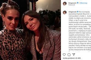 """Kinga Rusin o kulisach oscarowego after party: """"Bradley Cooper posyłał mi uśmiechy"""". Wpadka magazynu People"""