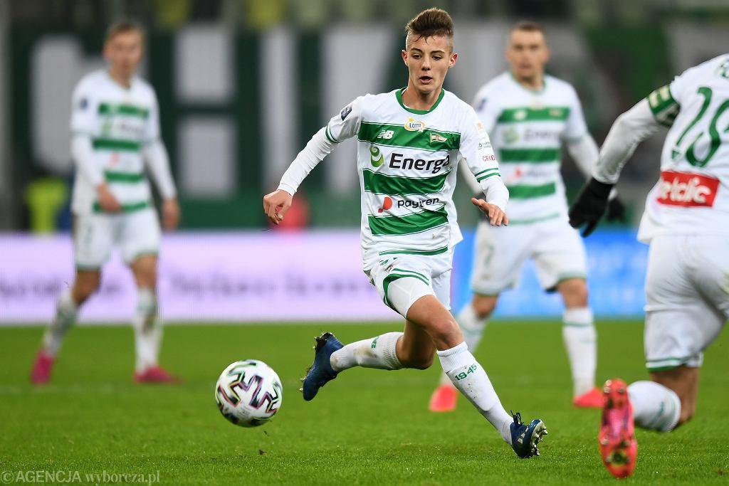Były piłkarz Lechii Gdańsk Kacper Urbański zadebiutował w Seria A