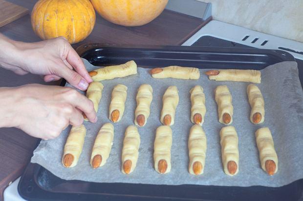 Paluchy wiedźmy - ciasteczka na Halloween