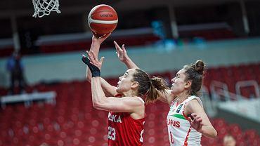 3 lutego 2021 r., kwalifikacje do kobiecego Eurobasketu 2021, mecz w tzw. bańce w Rydze: Białoruś - Polska 56:68