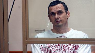 Ołeh Sencow został skazany 25 sierpnia 2015 r. na 20 lat łagru