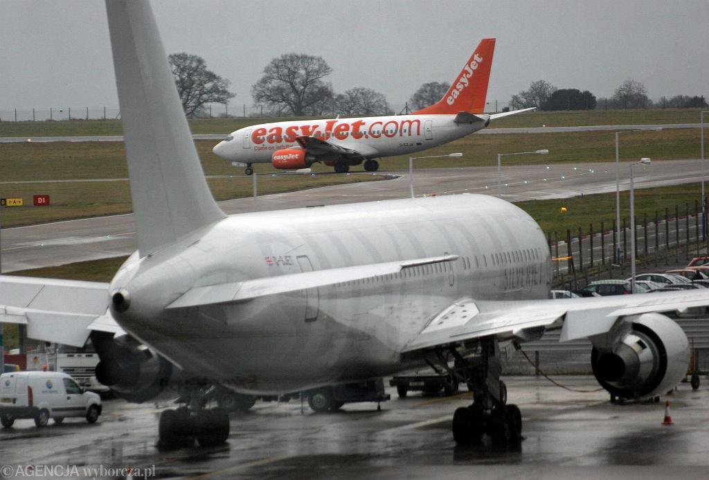 Samolot EasyJet