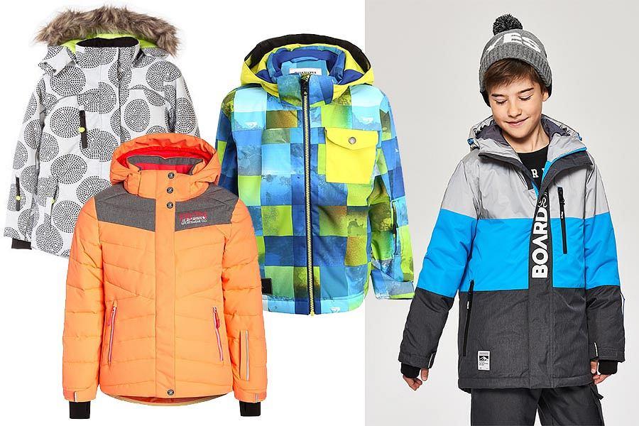 Dziecięce kurtki narciarskie