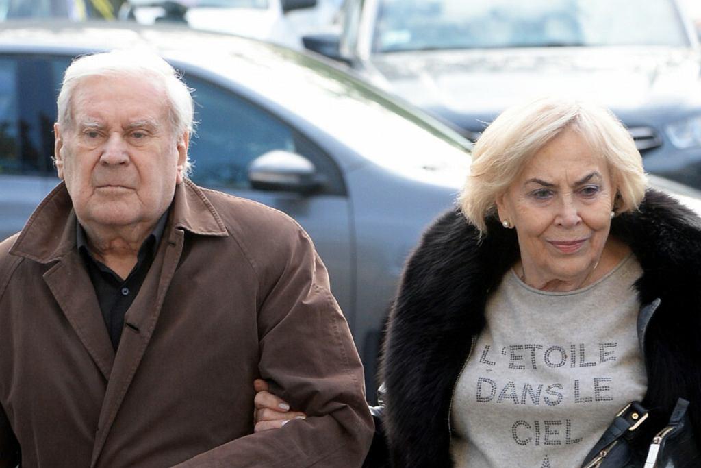 Wiesław Gołas z żoną