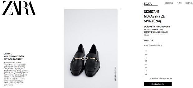 Zara sprzedaje hitowe mokasyny inspirowane projektem Gucci