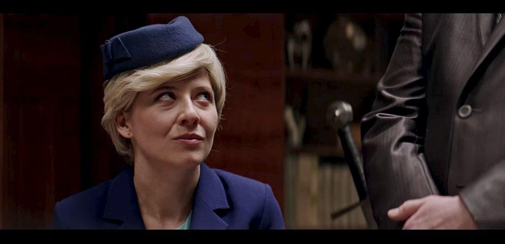 Anna Smołowik w 'Uchu Prezesa' / Screen z youtube