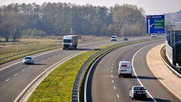 Pijany kierowca zasnął na pasie awaryjnym autostardy A4, fot. Patryk Ogorzałek/AG
