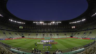 Puchar Polski. Lechia - Gdańsk - Piast Gliwice. Puste trybuny Stadionu Energa