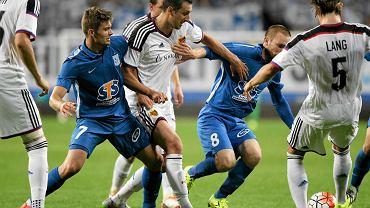 Lech Poznań - FC Basel 1:3 w III rundzie eliminacji do Ligi Mistrzów.