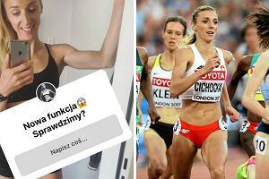 Angelika Cichocka odpowiada na pytania kibiców: Z kolanem coraz lepiej, niestety wciąż biegam z bólem
