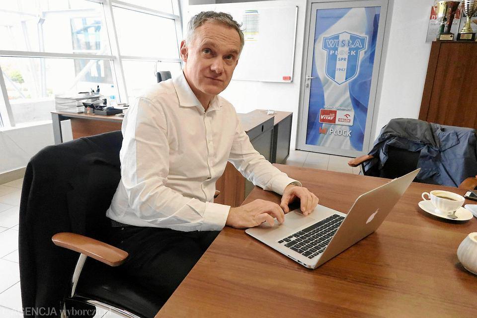 Robert Czwartek, prezes SPR Wisła Płock