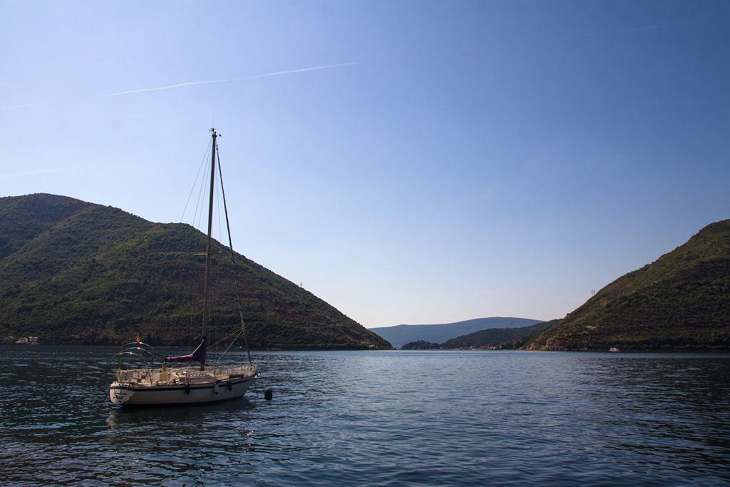 Czarnogóra. Zatoka Kotorska. Zdjęcie ilustracyjne