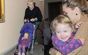 Huber Urbański z córką