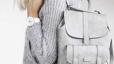 Skórzany plecak jest modnym dodatkiem do wielu stylizacji. Zdjęcie ilustracyjne, Alena Ozerova/shutterstock.com
