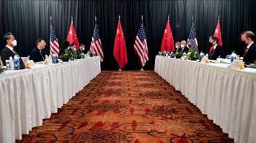 Spotkanie Amerykanów i Chińczyków na Alasce, które zaczęło się od słownych połajanek
