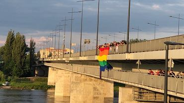 Incydent na moście Łazienkowskim w Warszawie