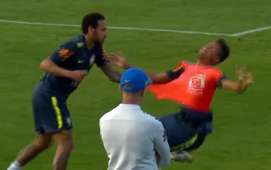 Neymar został ośmieszony podczas treningu. Wideo hitem internetu