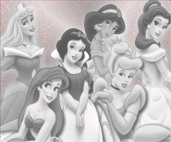 Księżniczki jak malowane