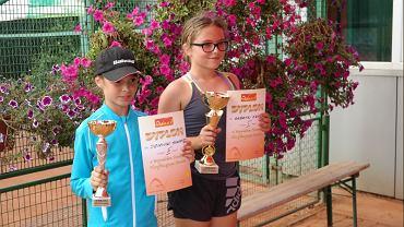 Najlepsze tenisistki radomskiego turnieju skrzatów