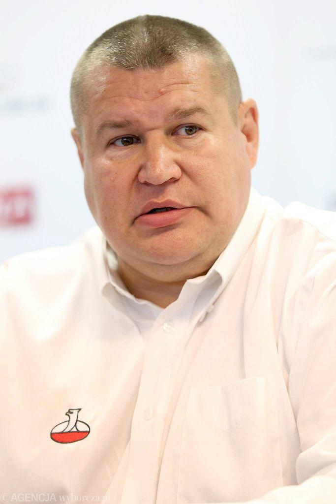 Prezes Budowlanych Lublin i wiecprezes PZRug. Jacek Zalejarz
