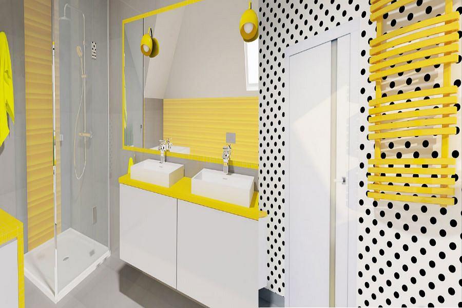 Efektowna łazienka