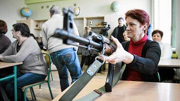Szkolenie nauczycieli na okoliczność ataku w jednej z szkół