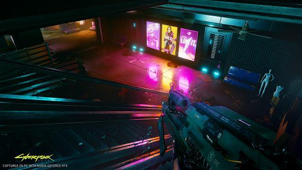 Nvidia zaimpementuje technologię ray tracing w grze Cyberpunk 2077