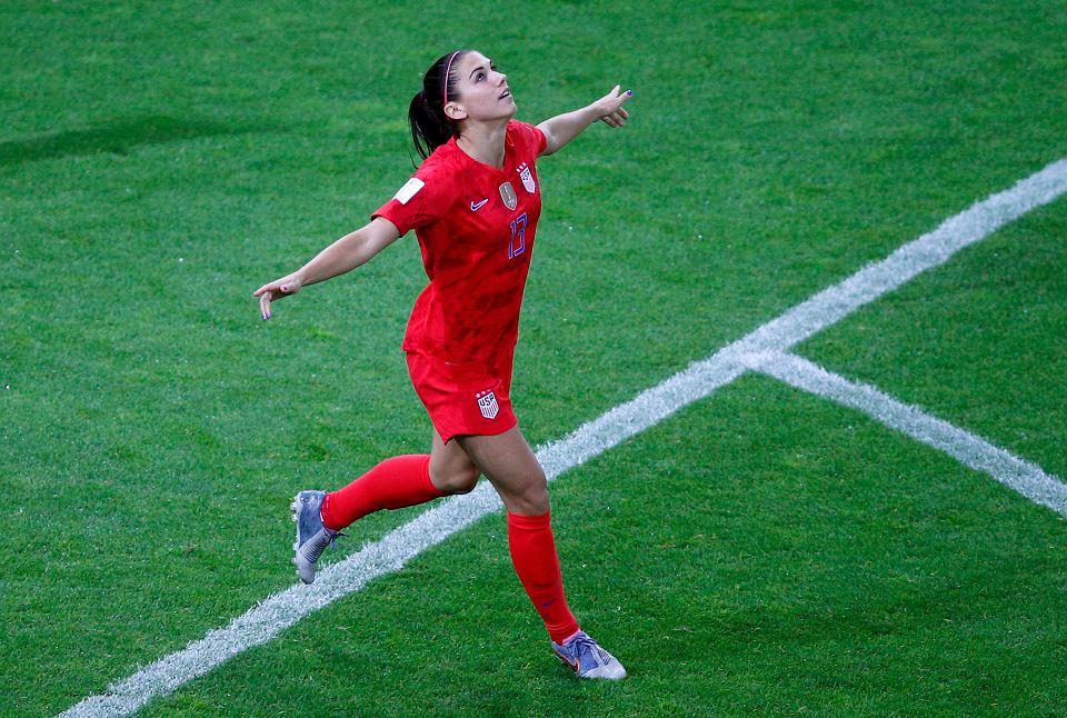 Alex Morgan strzeliła pięć goli w meczu MŚ USA - Tajlandia (13:0)