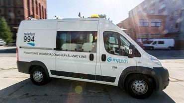 Pojazd brygady sieciowej MPWiK