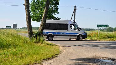 Las w Pożarzysku, w którym znaleziono ciało zamordowanej dziewczynki
