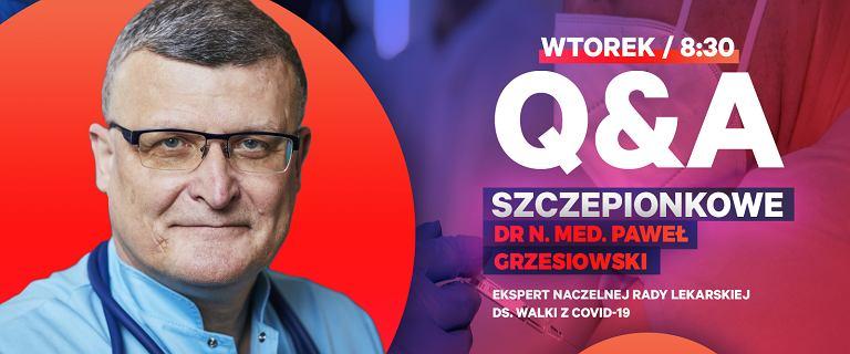 Dr Grzesiowski: Szczepienie nie wpłynie na wynik testu PCR [Q&A]