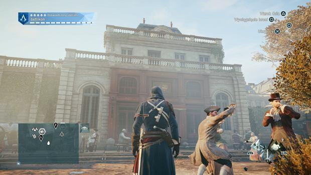 Screen z gry 'Assassin's Creed: Unity' - Odnowione Café Théâtre około 1808