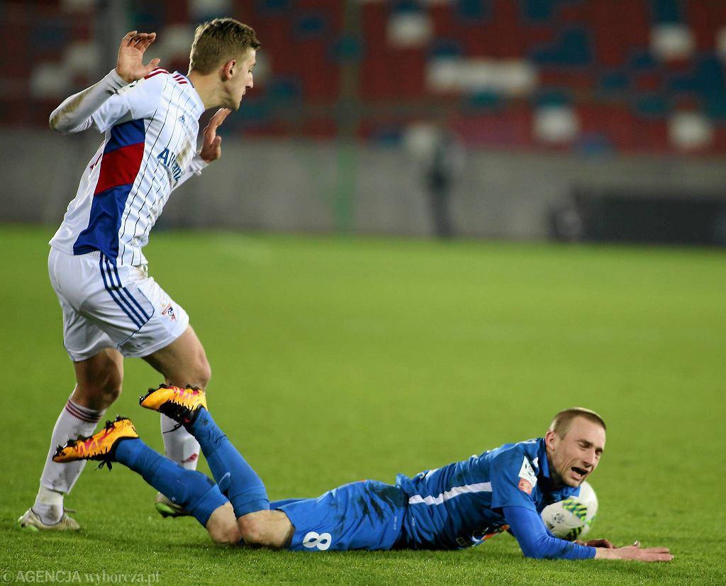 Górnik Zabrze - Lech Poznań 0:2. Szymon Pawłowski