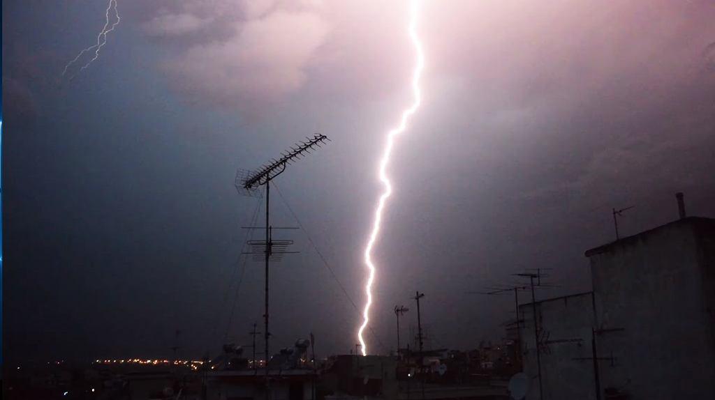 Burza w Chalkidiki