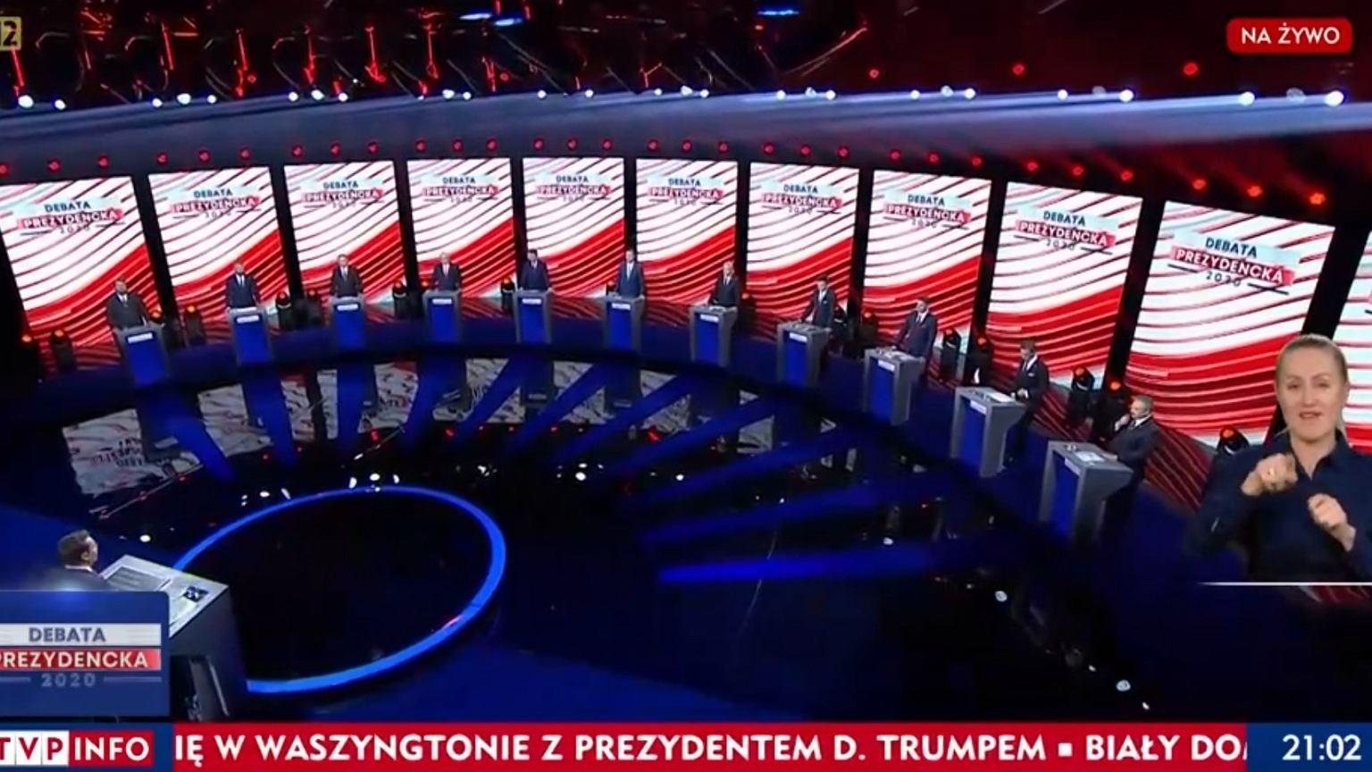 Wybory prezydenckie 2020. Debata prezydencka w TVP. Seria dziwnych pytań i brak odpowiedzi