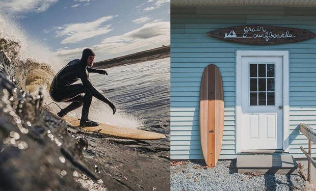 Glenmorangie x Grain Surfboards